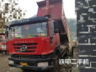 红岩8X4工程自卸车实拍图片