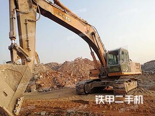 加藤HD1638R挖掘机实拍图片