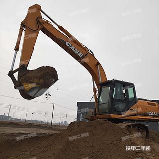 凯斯CX210B挖掘机实拍图片