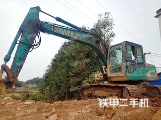 山河智能SWE150LC挖掘机实拍图片