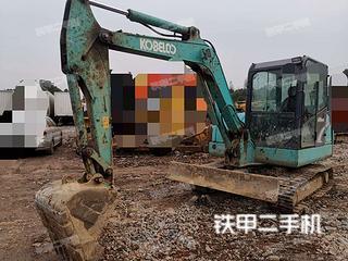 湖北-武汉市二手神钢SK60-8挖掘机实拍照片