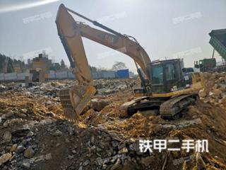 山东-枣庄市二手卡特彼勒326D2L液压挖掘机实拍照片