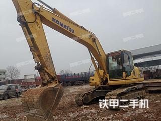 武漢小松PC200-8挖掘機實拍圖片