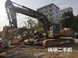湖南-邵阳市二手沃尔沃EC360BLC挖掘机实拍照片