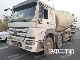 中国重汽ZZ5317GJBN326HD1搅拌运输车实拍图片