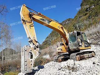 贵州-黔西南布依族苗族自治州二手卡特彼勒320CU挖掘机实拍照片