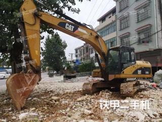 湖南-邵阳市二手卡特彼勒320D液压挖掘机实拍照片