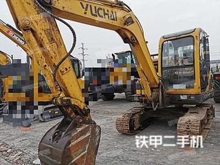 四川-绵阳市二手玉柴YC60-8挖掘机实拍照片