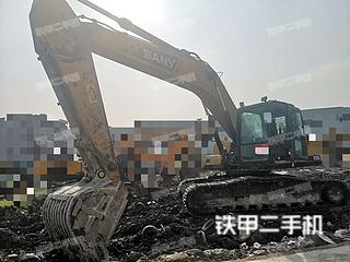 四川-成都市二手三一重工SY215C挖掘机实拍照片