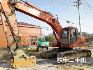湖北-鄂州市二手斗山DH220LC-7挖掘机实拍照片