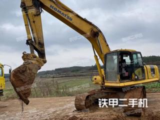 湖南-岳阳市二手小松PC210LC-7挖掘机实拍照片