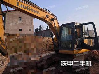 柳工CLG913E挖掘机实拍图片