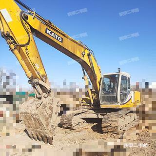 天津-天津市二手加藤HD820III挖掘机实拍照片