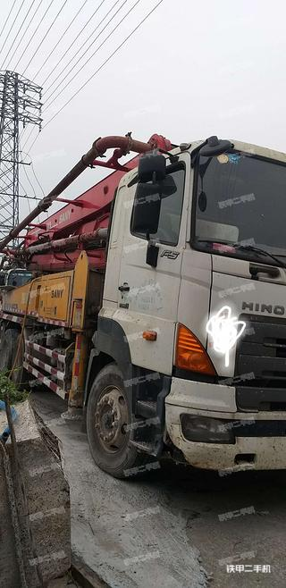 三一重工SY5295THB37泵車實拍圖片