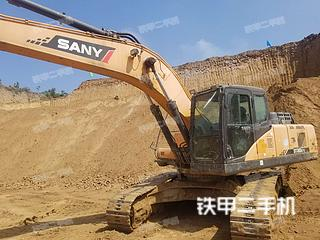 山西-晋中市二手三一重工SY265C挖掘机实拍照片
