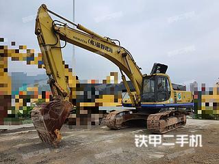 浙江-杭州市二手小松PC350-6挖掘机实拍照片