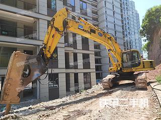 寧波小松PC400-6挖掘機實拍圖片