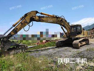 寧波小松PC450LC-6挖掘機實拍圖片