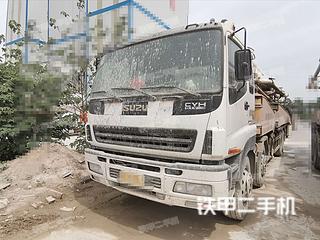 山推HJC5390THB-48五十鈴泵車實拍圖片