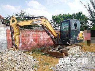 贵州-黔西南布依族苗族自治州二手三一重工SY55C挖掘机实拍照片