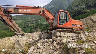 湖北-宜昌市二手斗山DH220LC-7挖掘机实拍照片