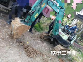洋馬Vio20-3挖掘機實拍圖片