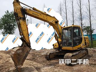 寧波小松PC100-6E挖掘機實拍圖片