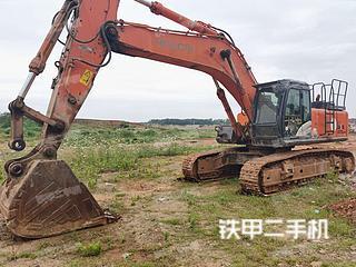 日立ZX470LCH-5G挖掘机实拍图片