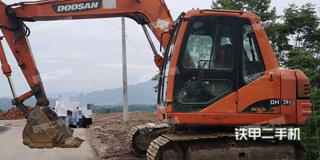 开县斗山DH80G挖掘机实拍图片