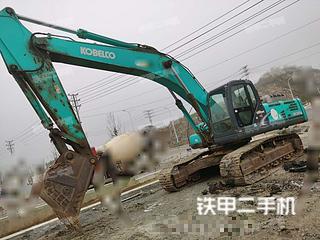 贵州-六盘水市二手神钢SK350LC-8挖掘机实拍照片