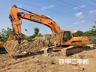 安徽-六安市二手斗山DH420LC-7挖掘机实拍照片