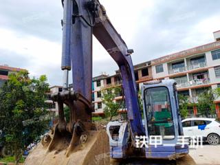 小松PC75UU-3C挖掘机实拍图片