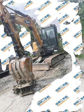 三一重工SY60C挖掘機實拍圖片