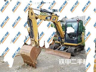 贵州-黔西南布依族苗族自治州二手卡特彼勒305.5E2小型液压挖掘机实拍照片