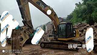 湖北-宜昌市二手卡特彼勒323D2L挖掘机实拍照片