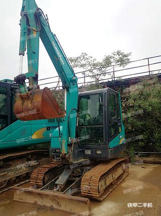 山河智能SWE60E挖掘機實拍圖片