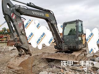 湖北-武汉市二手沃尔沃EC60C挖掘机实拍照片