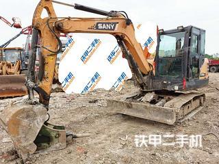 湖北-武汉市二手三一重工SY60C挖掘机实拍照片