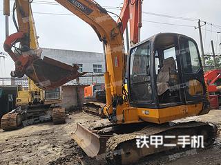 雷沃重工FR60挖掘机实拍图片
