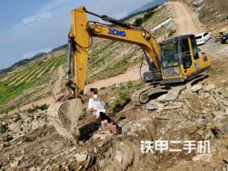 湖南-永州市二手徐工XE135D挖掘机实拍照片
