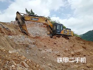贵州-黔西南布依族苗族自治州二手三一重工SY485H挖掘机实拍照片