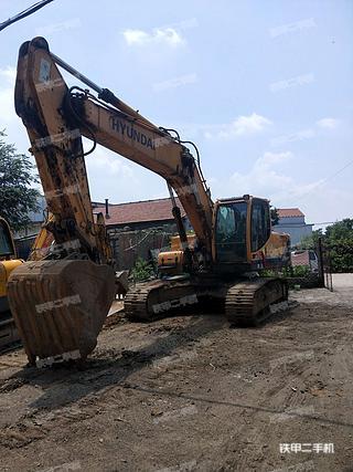 山东-淄博市二手现代R275LC-9T挖掘机实拍照片