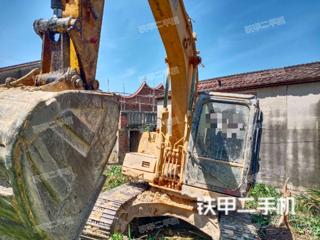 柳工CLG915C挖掘机实拍图片