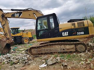 二手卡特彼勒挖掘机左后45实拍图227
