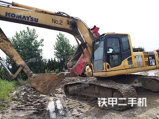 小松PC220LC-8挖掘機實拍圖片