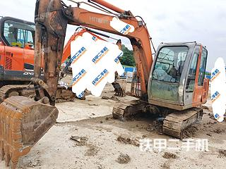 日立ZX60挖掘机实拍图片