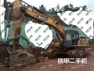 四川-内江市二手三一重工SY485H挖掘机实拍照片