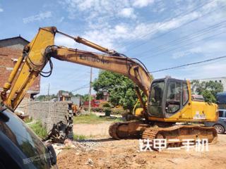 柳工CLG922LC挖掘機實拍圖片