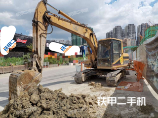 广东-湛江市二手卡特彼勒312V2挖掘机实拍照片