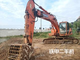 临沂斗山DH225LC-7挖掘机实拍图片